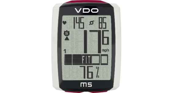 VDO M5 WL Trådløs cykelcomputer (digital radio) sort/hvid